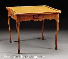 A French Provincial Fruitwood Games Table