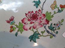 A Chinese Export Famille Rose Porcelain Dish