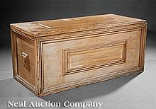 A Louisiana Cypress Blanket Chest
