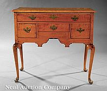 An American Queen Anne Maple Lowboy