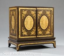 Chinese Export Miniature Chest on Stand