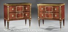 Pair of Russian Neoclassical-Style Commodes
