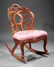 Rocking Chair, attr. to John Henry Belter
