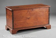 Antique American Pine Blanket Chest