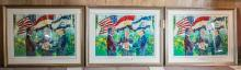 Leroy Neiman Signing of Egyptian-Israel Peace Treaty Serigraphs