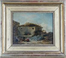 18th Century French Oil Painting
