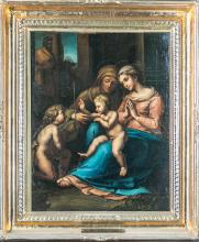 Oil Painting After Giulio Romano