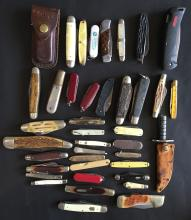 (39) Collection of Pocket Knives