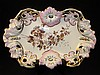 CARL TIELSCH OLD PARIS STYLE PORCELAIN DISH