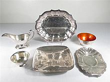 SILVER PLATE & STERLING SILVER: TOWLE, ETC.