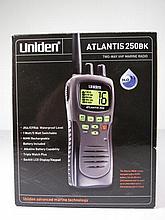 UNIDEN ATLANTIS 250 HANDHELD TWO WAY MARINE RADIO