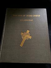 1897 THE LIFE OF JESUS CHRIST BY J. JAMES TISSOT LARGE VOLUME 3 BOOK SET