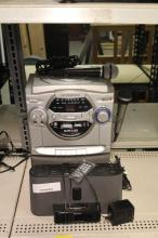 Karaoke Machine w/ Sony Ipod Dock Player