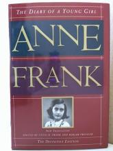 THE DIARY OF A YOUNG GIRL - ANNE FRANK - THE DEFINITIVE EDITION - HARDCOVER/DJ The Diary of a Young Girl, Anne Frank, New  Translation Edited by Otto H. Frank and  Mirjam Pressler, The Definitive Edition;  1995, Doubleday; Hardcover w/Dustjacket,  340pp.