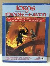 LORDS OF MIDDLE-EARTH, VOL. 1 - THE IMMORTALS; 1988; ILLUSTRATED