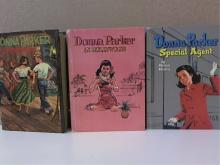 LOT OF 3 DONNA PARKER: SPECIAL AGENT, IN HOLLYWOOD, AT CHERRYDALE - HC