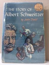 LANDMARK BOOK: THE STORY OF ALBERT SCHWEITZER - HC/DJ - VINTAGE 1957