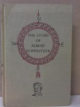 LANDMARK BOOK: THE STORY OF ALBERT SCHWEITZER - HC - VINTAGE 1957