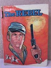 THE REBEL - NICK ADAMS - TV - VINTAGE 1961 - HC - ILLUSTRATED