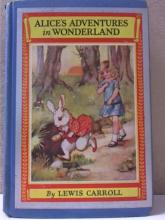 ALICE'S ADVENTURES IN WONDERLAND - HC VINTAGE 1930s - ILLUSTRATED-Ada Bowley