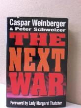 THE NEXT WAR, Caspar Weinberger - 1996 - HC/DJ -