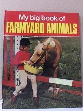 MY BIG BOOK OF FARMYARD ANIMALS - HC - VINTAGE 1972 - Gudrum Heatley - ILLUS.