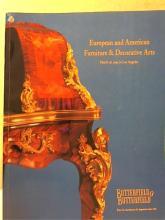 EUROPEAN & AMERICAN FURNITURE & DECORATIVE ARTS 1991 - LOS ANGELES Butterfield & Butterfield