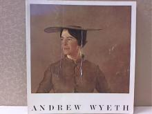 ANDREW WYETH - PA ACADEMY OF FINE ARTS SOFTCOVER - 1966 - ILLUSTRATED - 111pp.