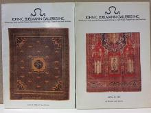 JOHN C. EDELMANN GALLERIES, INC. LOT OF 2- June 14, 1980; April 25, 1981