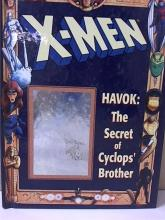 X-MEN, HAVOK: THE SECRET OF CYCLOPS' BROTHER - MARVEL - 1994 Interior of this book is in very good  conditon; the hologram on the cover is  scratched (see photo).