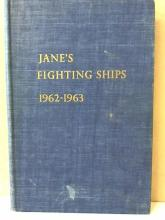 JANE'S FIGHTING SHIPS 1962-63 - HC -
