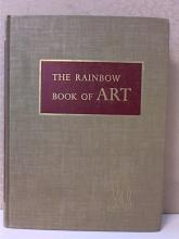THE RAINBOW BOOK OF ART - 1956 - 1st ED. HC-ILLUSTRATED-256pp. 32 COLOR PLATES