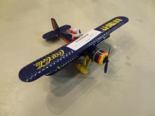 Coca Cola Model Plane
