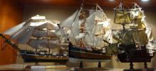 3 Model Ships