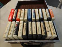 Case of 8 Track Tapes
