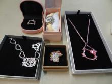 5pc Hello Kitty Jewelry