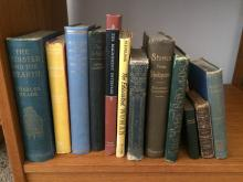 Shelf of Antiquarian and Collectible Books