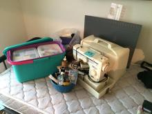 Sewing and Crafts Lot - Jeans Machine Sewing Machine