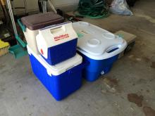 4 pc Ice Coolers