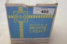 (1) Super 8 Movie Light