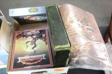 3 Board Games & 2 Lord of The Rings Posters: