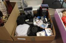 Box Lot of Camera Liens & Accesories