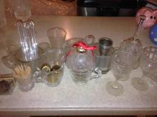 Misc glass Kitchen Table Accessories