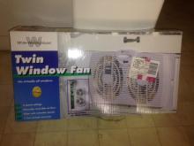Twin Window Fan in box
