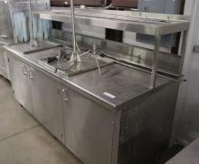 Stainless Steel Serving Counter