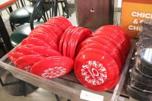 (1) Lot Of Promotional Frisbees