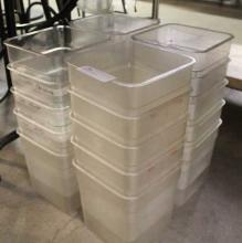 (20) Plastic Food Containers