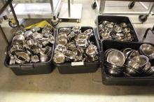 (4) Bins Of Misc Restaurant  Equipment