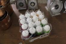 (1) Lot Of 16 Condiment Bottles