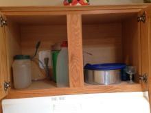 Cabinet of Kitchenware